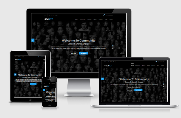 Socifly multipurpose social network html5 template by themelooks template designed to build any kinds of social networking website its an html5 template based on latest stable bootstrap 337 maxwellsz