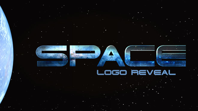 Space Logo Reveal - 3
