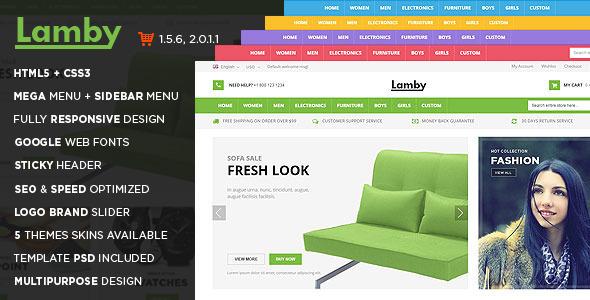 Lamby OpenCart Theme