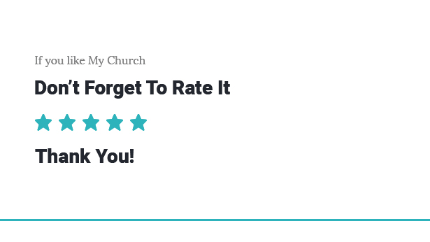 My Church - Church WordPress Theme with Events, Donations & Sermons