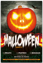 Halloween Party Flyer - 4