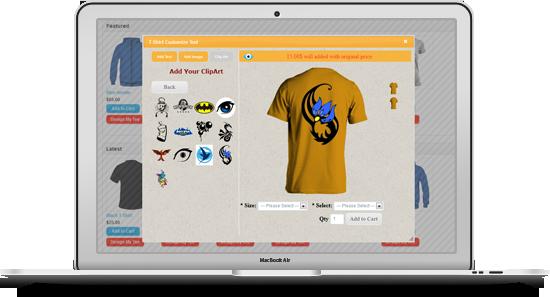 OpenCart Custom T-Shirt Design - 12