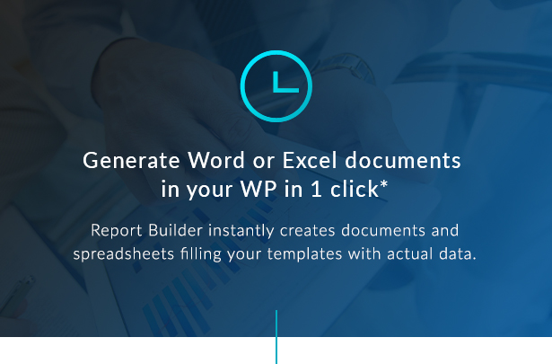 Report Builder add-on for wpDataTables - Generate Word DOCX and Excel XLSX documents - 4