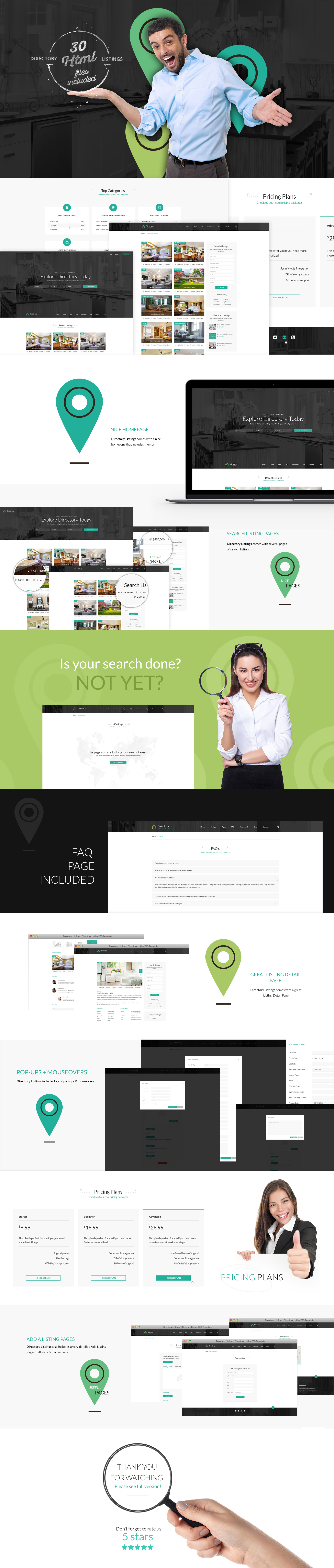 Directory Point Multipurpose Html Template
