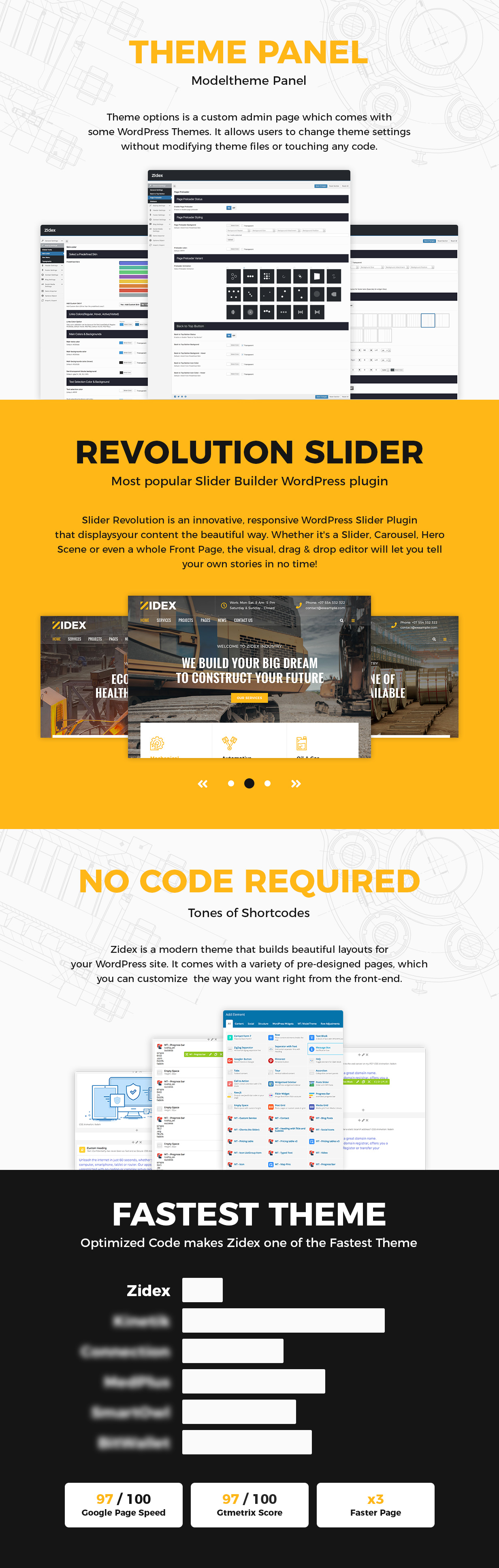 Zidex - Industrial & Factory WordPress Theme - 2