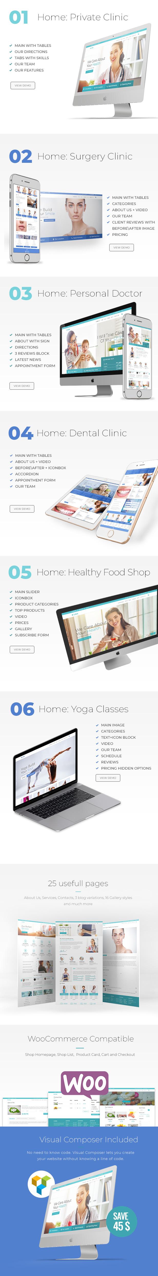 Medical Medel | Medical & Health WordPress - 5