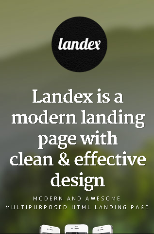 Landex on iPhone