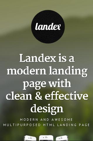 Landex on iPhone