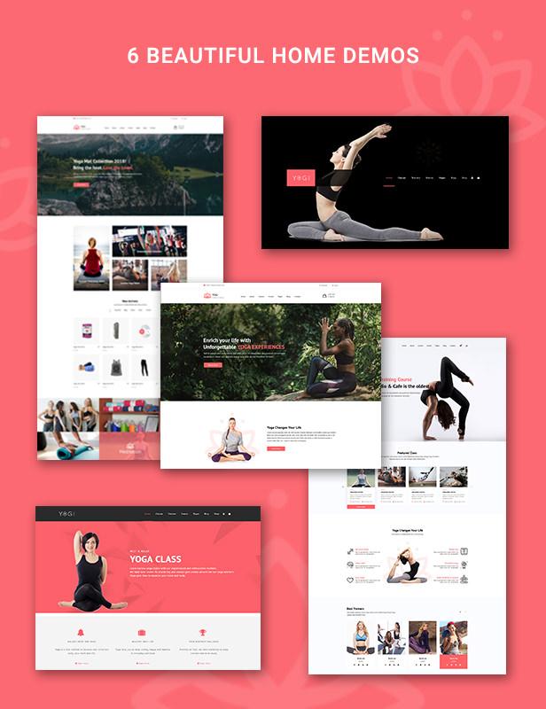 Yogi - Health Beauty & Yoga WordPress Theme - 4