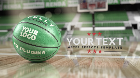 Basketball Logo Reveals - Mockup - 25