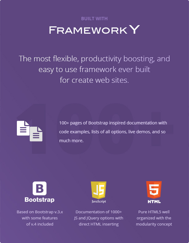 TechLine - Web services, businesses and startups modular template - 6