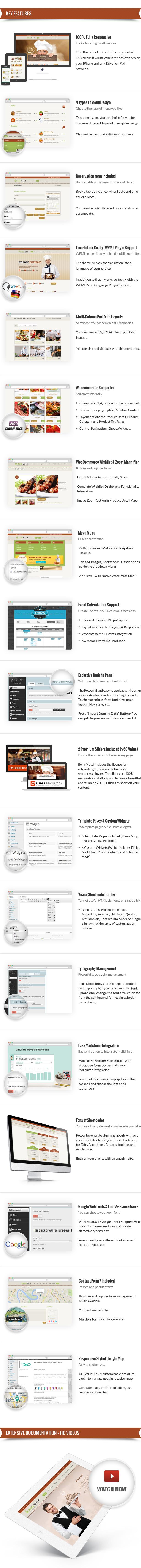 Bella Recipe - Restaurant & Recipe WordPress Theme - 4