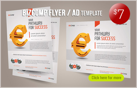 A4 Half Fold Brochure Template By Kinzi21 | Graphicriver