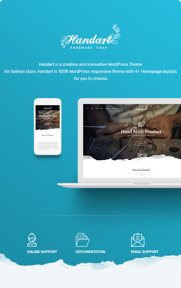 Handart - Handmade Theme for WooCommerce WordPress 20