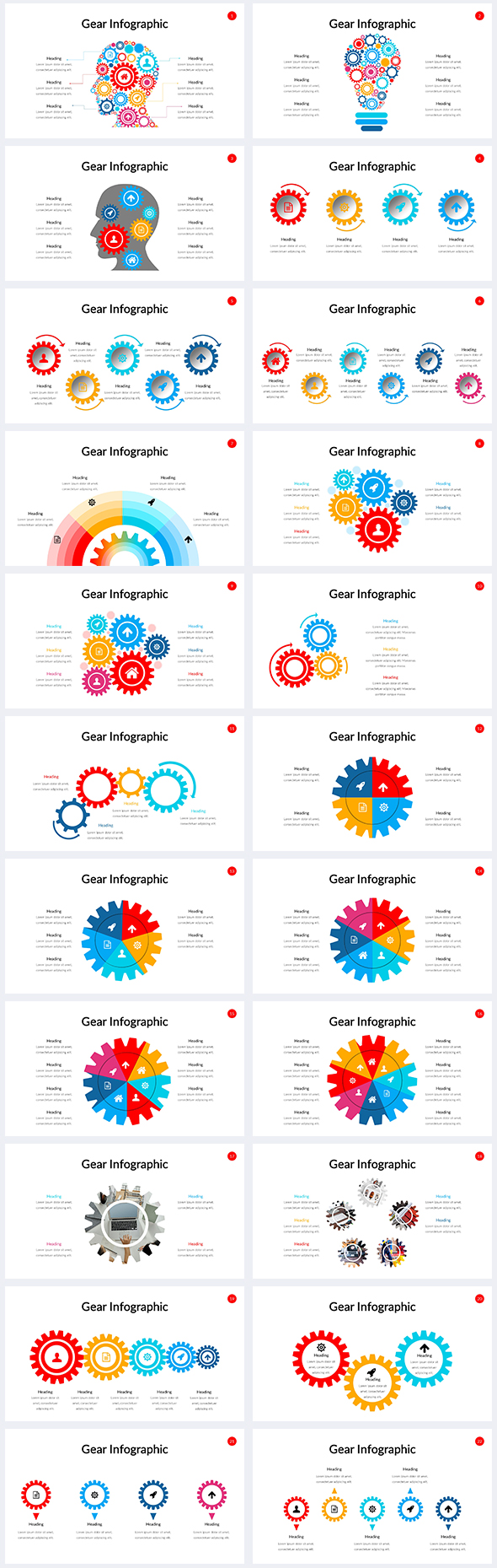 Gear-Infographic-Power-Point-Template