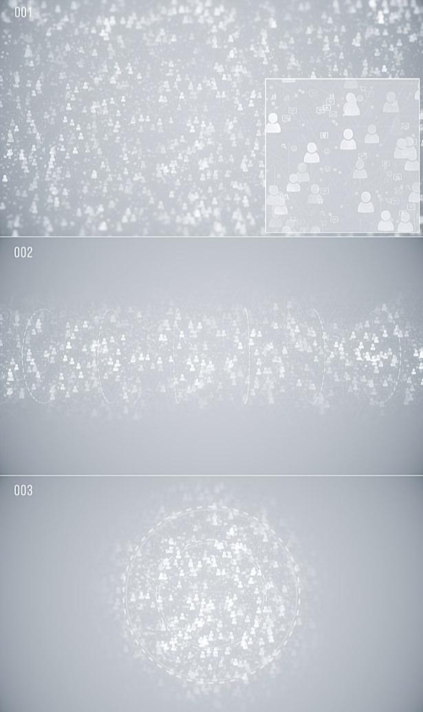 Social Network Backgrounds - 1