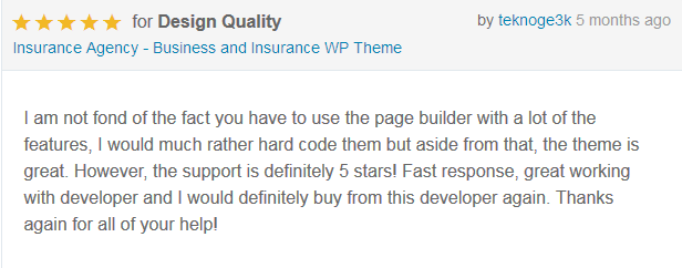 Insurance Agency - Business and Insurance WP Theme - 7