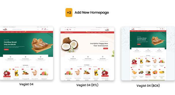 Vegist - The  Vegetables, Supermarket & Organic Food eCommerce Shopify Theme - 6