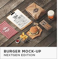 Burger Mock-Up