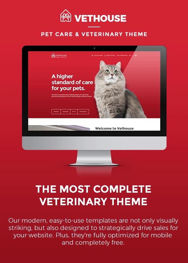 Vethouse - Pet Care & Veterinary Theme - 5