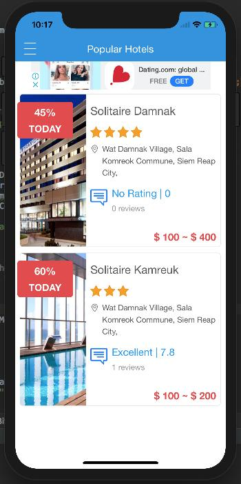 Discussion on PSHotels iOS (Ultimate Hotels Finder