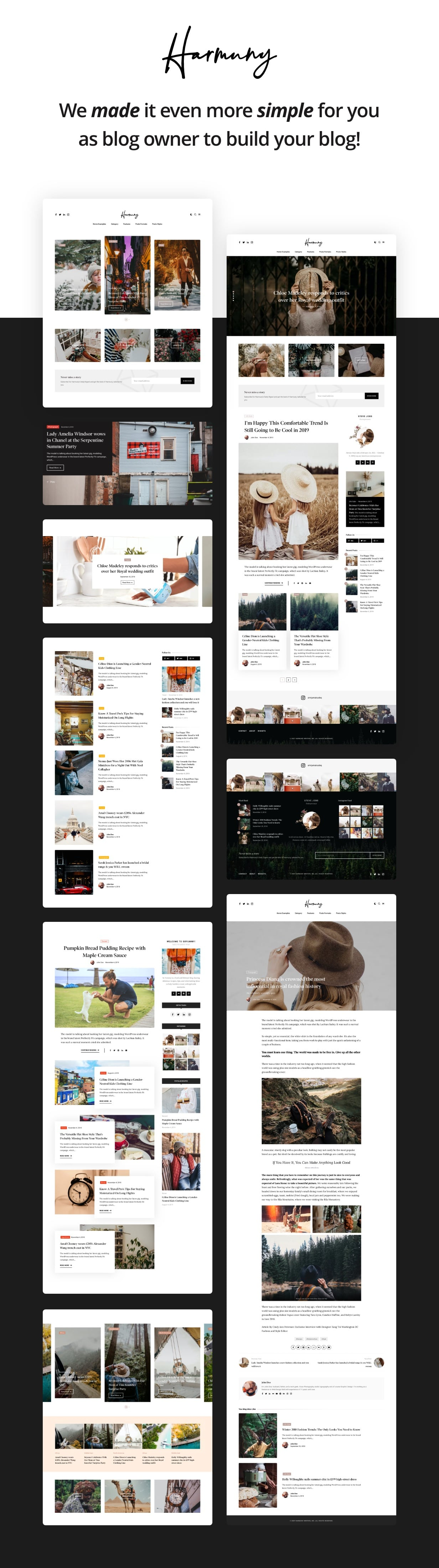 Hooray — Blog WordPress theme for Professional Writers - 1