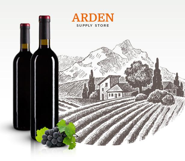Arden - Modern Brewery & Pub WordPress Theme
