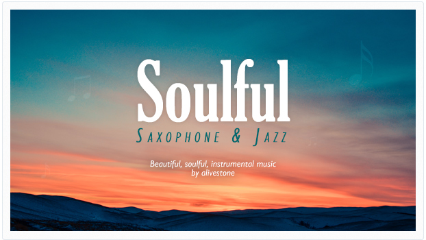 soulful saxophone jazz music