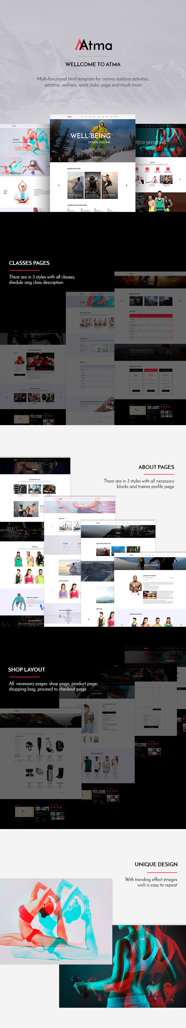 Perfect Yoga Website Template Photos - Examples Professional Resume ...