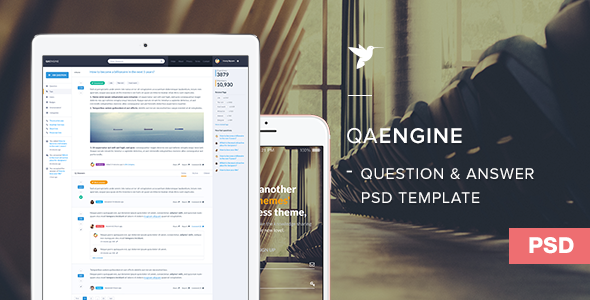 QAEngine PSD Template