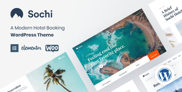 Sochi WordPress Theme
