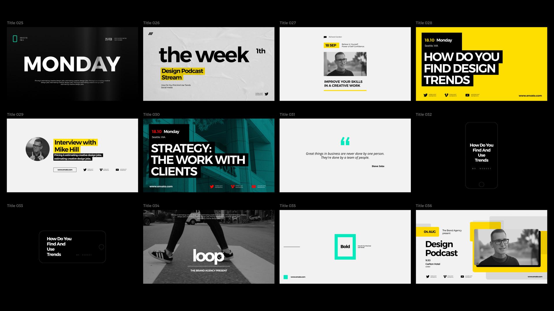 Typography Promo - 3