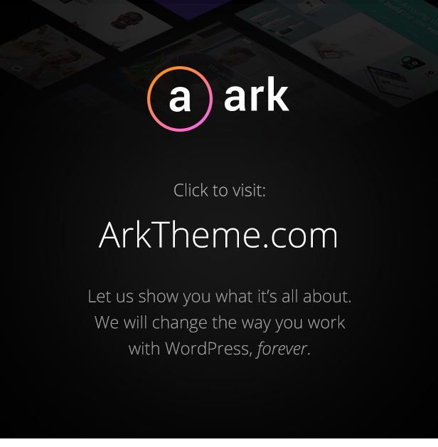 The Ark | WordPress Theme made for Freelancers - 4