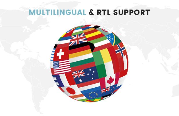 A Fully Functional eCommerce Prestashop Theme - Multi-language