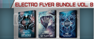 Electro Music Flyer Bundle Vol. 39 - 9