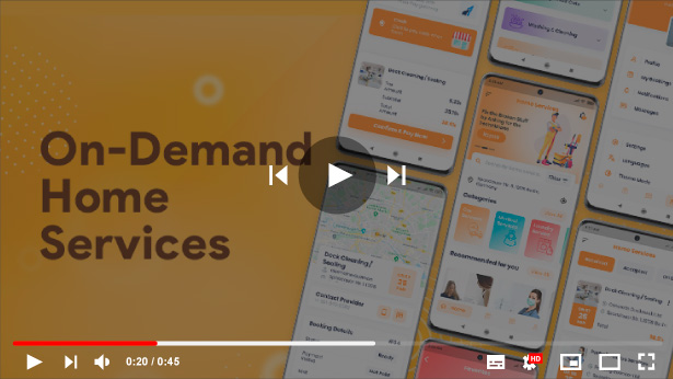 On-Demand Home Services, Business Listing, Handyman Booking with Admin Panel - 3