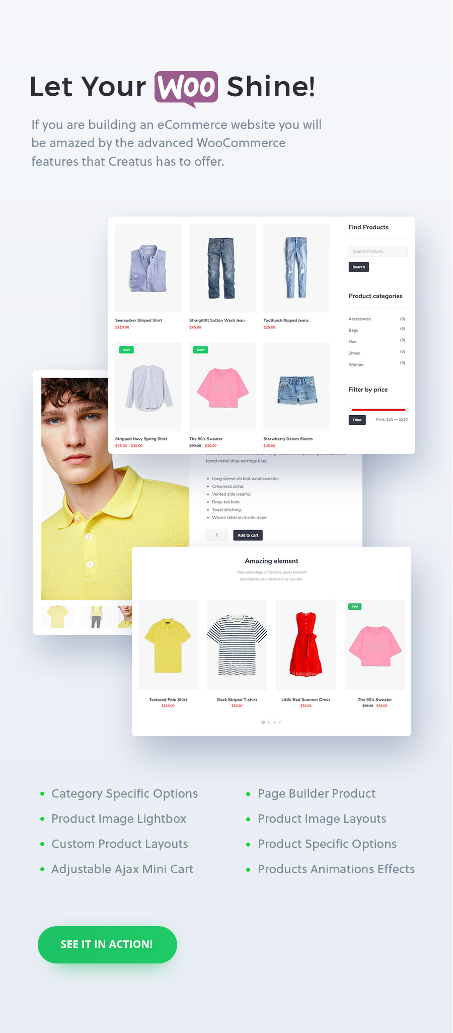 Creatus WordPress Theme WooCommerce