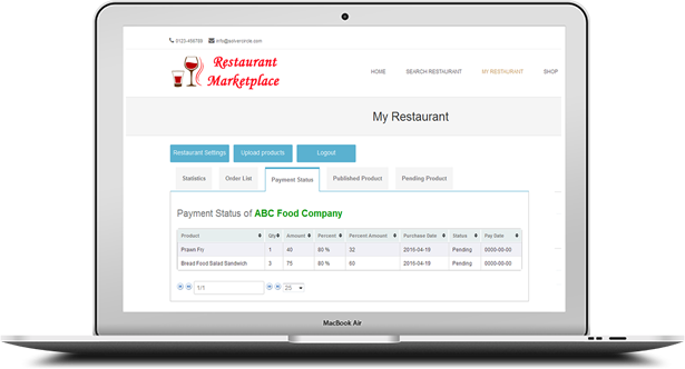 Online Multi Restaurants Marketplace for WooCommerce - 19