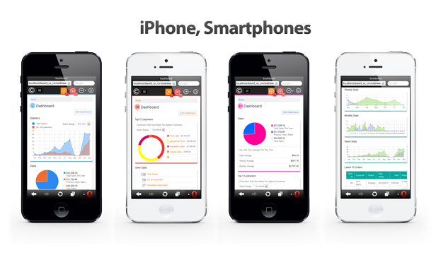 iPhone, Smartphone View