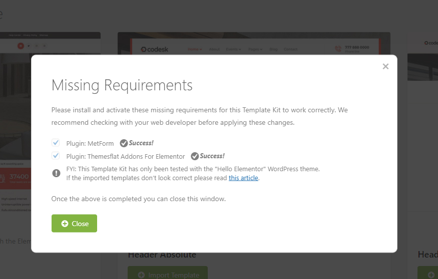 Digital Agency Services Template Kit