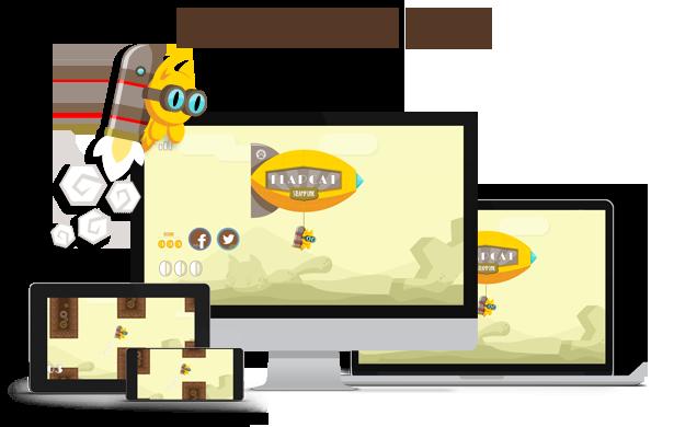 Game FlapCat Steampunk - 1
