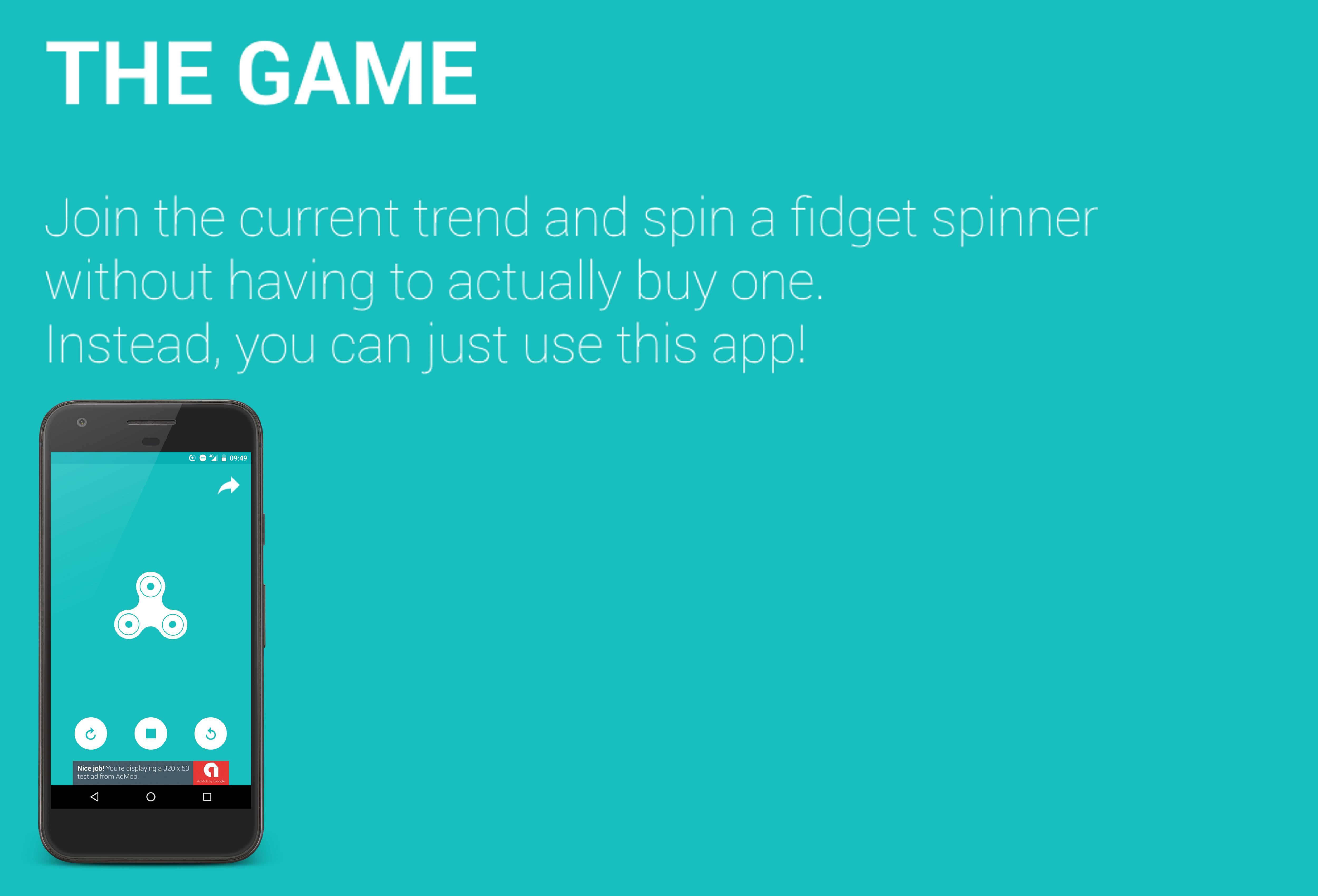Fidget Spinner with AdMob (Banner & Interstitial)