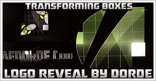 Transforming Boxes Logo Reveal