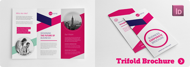 Business Corporate Square Trifold Brochure - 1