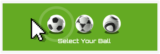 Choose between the classic Telstar ball, the Unico ball or the Jabulani ball used in the FIFA World Cup finals from 1970 to 2010 with the click of a button.