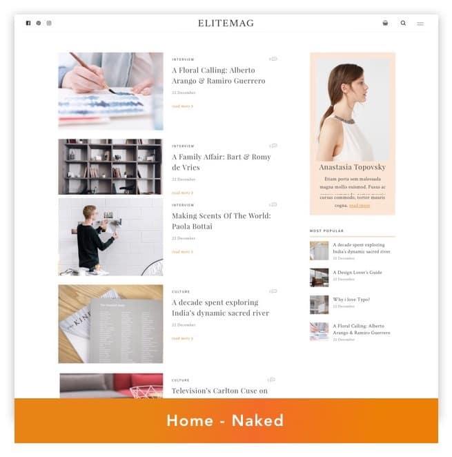 Elitemag - Stylish WordPress Blog and Magazine Theme - 4