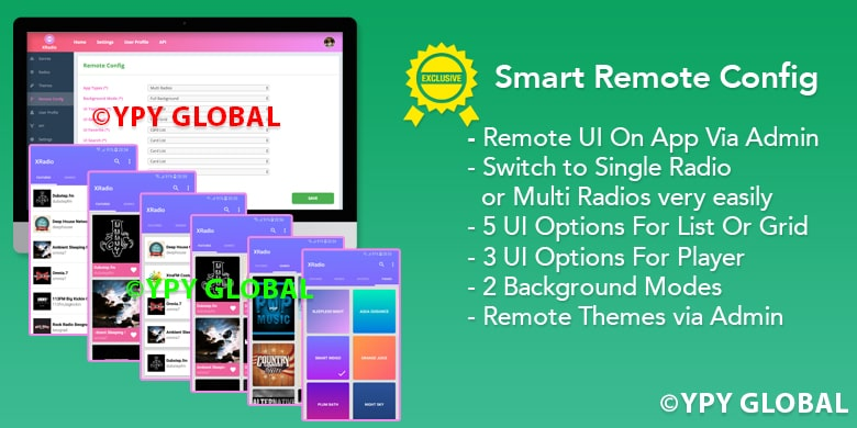 XRadio - Best Radio Template For Android - 3