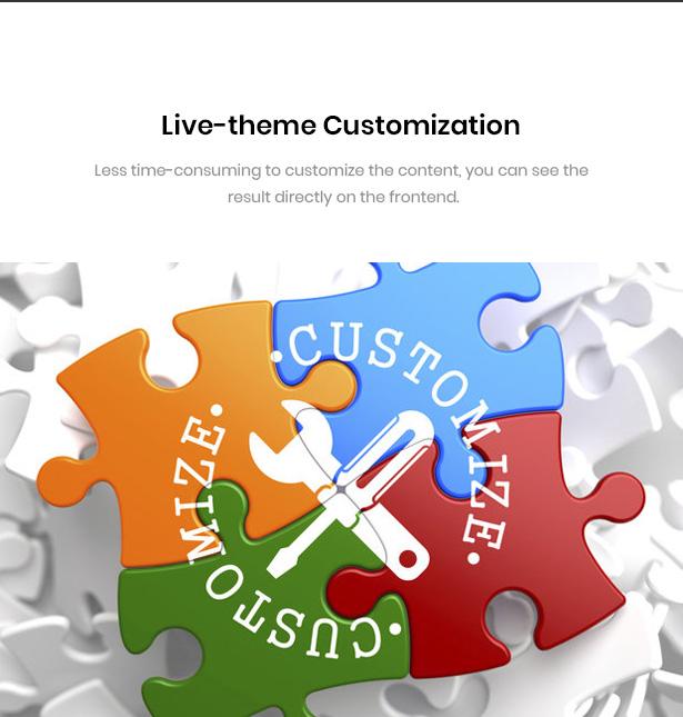 Real Time On-Site Customizer Undu - Furniture & Fashion WooCommerce WordPress Theme