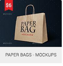 Paper Bags - Mockups