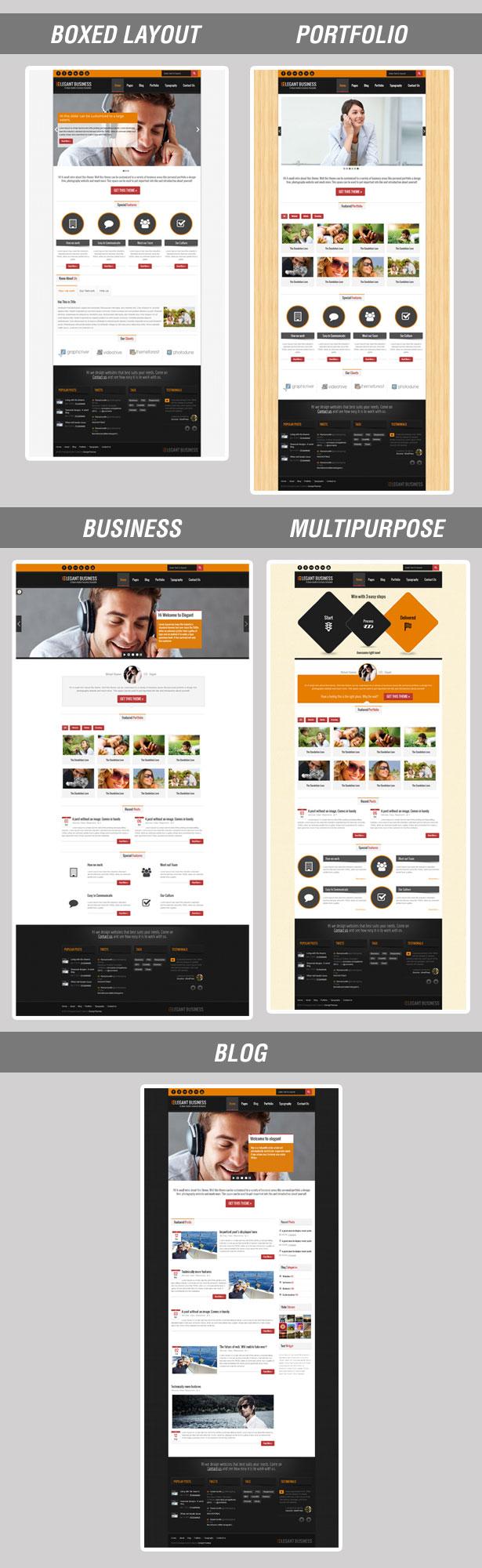 Elegant Business - Responsive HTML - 5
